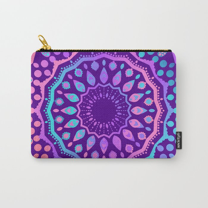 Ethnic Design Yoga Style Carry-All Pouch