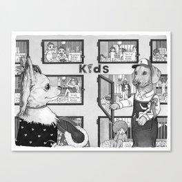 Pet Store Canvas Print