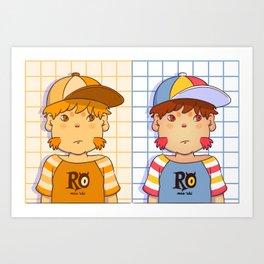 avatar oni Art Print