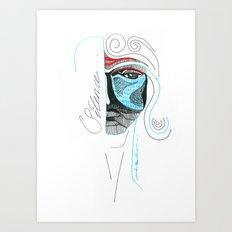 SILENCE Art Print
