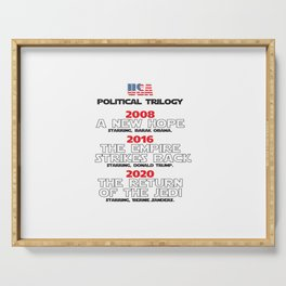 USA Presidential trilogy Serving Tray