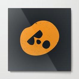 Boo Pumpkin Metal Print