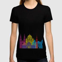 Zagreb skyline pop T-shirt