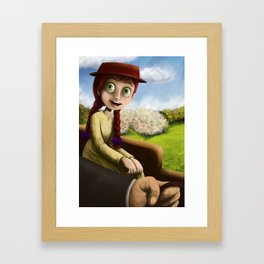 Anne of Green Gables Framed Art Print
