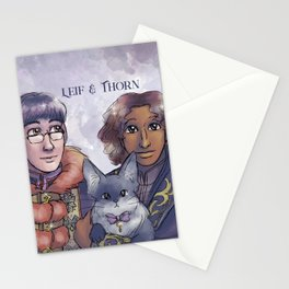 Leif & Thorn: Fancy Couple Stationery Cards