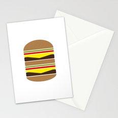 Burger Illustration Stationery Cards