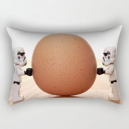 Storm trooper egg Rectangular Pillow