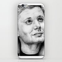 winchester iPhone & iPod Skins featuring Dean Winchester by stardustsoul