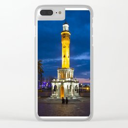Clock tower. Clear iPhone Case