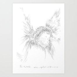 The Animals - weird, unpolished and ugly as we are #1 Art Print