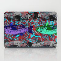 fishing iPad Cases featuring Fishing by cultclass