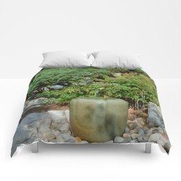 Japanese garden 7 Comforters