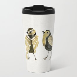 24-Karat Goldfinches Travel Mug