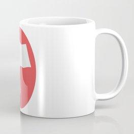 White Flag Coffee Mug