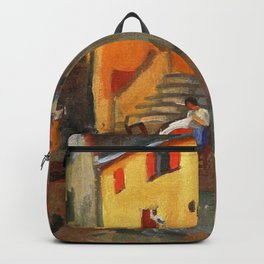Charles Camoin - Village Street, Collioure Backpack