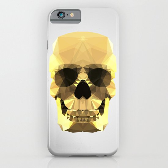 Polygon Heroes - Gold Skull iPhone & iPod Case