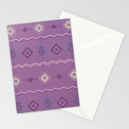 Moroccan modern pattern Stationery Cards