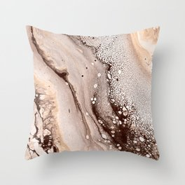 Abstraction #5 Throw Pillow