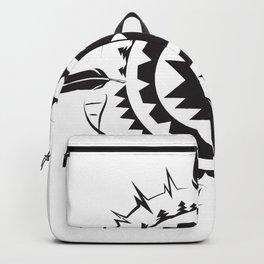 Native Amrican STEM Mandala Southwestern Backpack