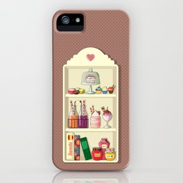 Sweets for My Sweet iPhone Case