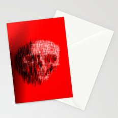 Etched Skull Stationery Cards
