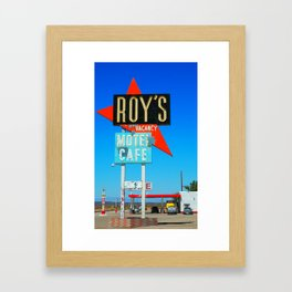 Roy's Framed Art Print