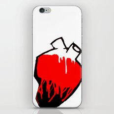 Washed by blood. iPhone & iPod Skin
