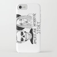 ahs iPhone & iPod Cases featuring AHS by ☿ cactei ☿
