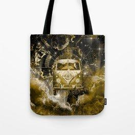 galaxy vintage voyager world map design 3 Tote Bag