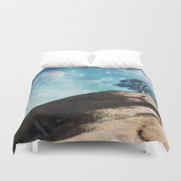 Not On This Earth Duvet Cover