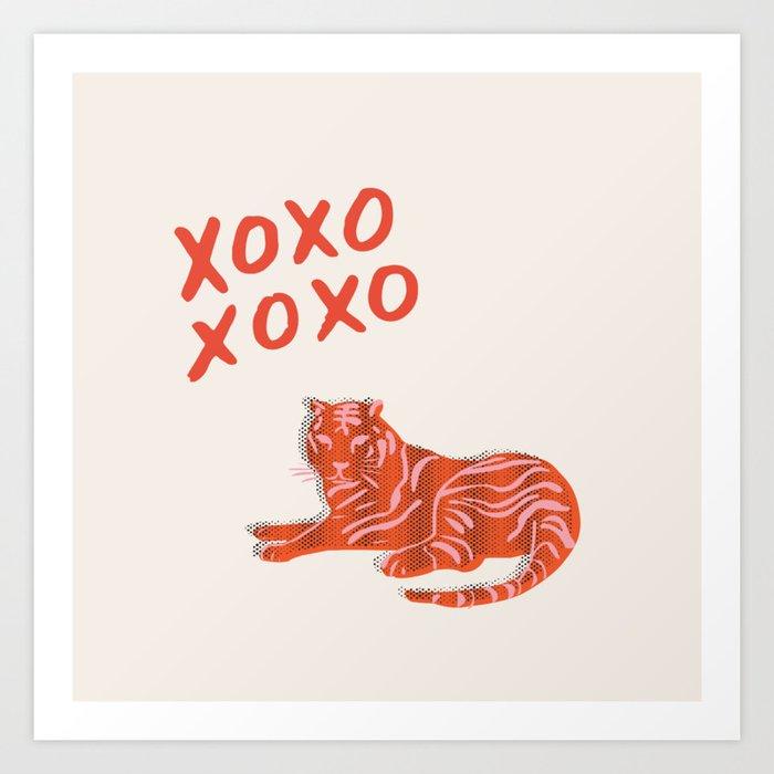 xoxox Art Print