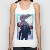 xmen Tank Tops featuring Xmen vs The Thing by ashurcollective
