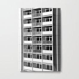 Balcony facade Metal Print