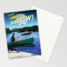 Mind The Sandy Narrows Stationery Cards