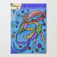 Eye on the Fish Canvas Print