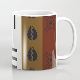 African Tribal Pattern No. 66 Coffee Mug