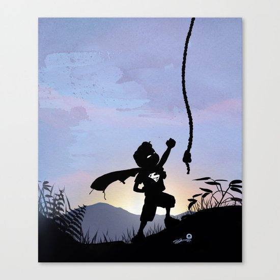 Super Kid Canvas Print