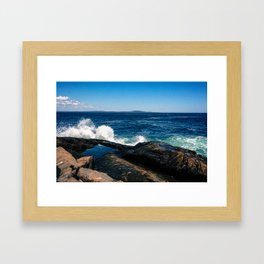 More Waves Framed Art Print