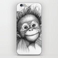 Monkey - Baby Orang outan 2016 G-121 iPhone & iPod Skin