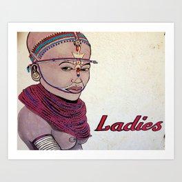 Hey Laaadieeeeees! Art Print
