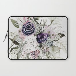 Purple Bouquet Laptop Sleeve