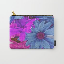 FLOWERS AND MUSIC Carry-All Pouch