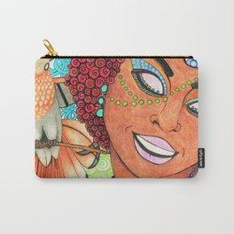 Trinidad & Tobago Color Carry-All Pouch