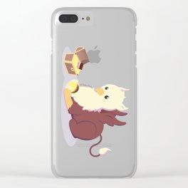 Kawaii fantasy animals - Griffin Clear iPhone Case