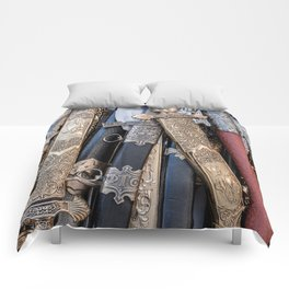 Cold steel arms Comforters