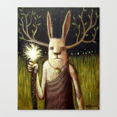 Bunny Warlock Canvas Print