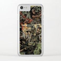 Walking Dead Clear iPhone Case