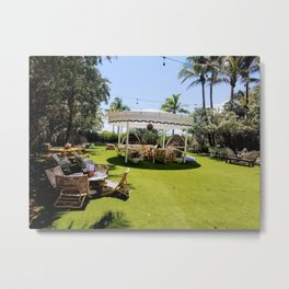 Relaxation awaits Metal Print