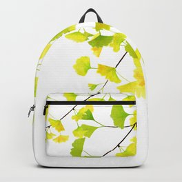 Ginkgo Branches Watercolor  Backpack