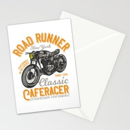 Classic CafeRacer Road King Stationery Cards